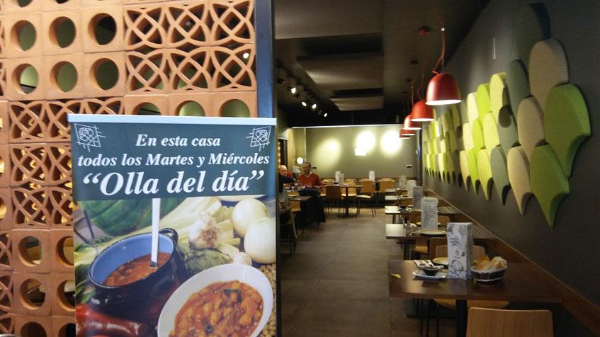 La ampliación del restaurante tiene un aspecto más moderno. Foto: Cosasdecome