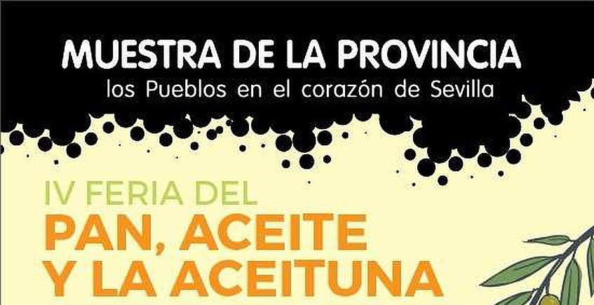 Diputación acoge la IV Feria del Pan, Aceite y Aceituna del 9 al 11 de marzo