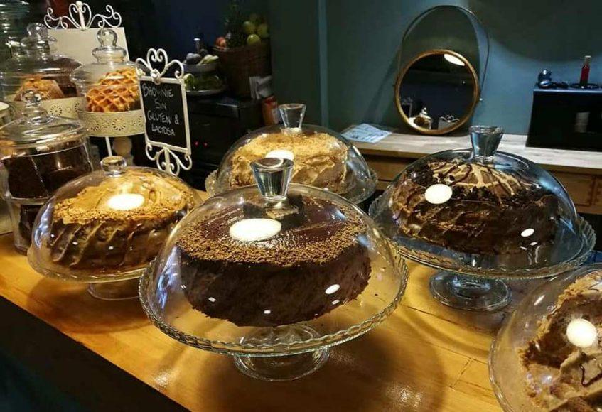 Tartas de la Cacharrería. Foto cedida por el establecimiento