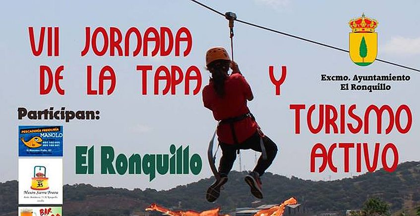 El Ronquillo celebra la VII Jornada de la Tapa y Turismo Activo los días 5, 6, 12 y 13 de mayo
