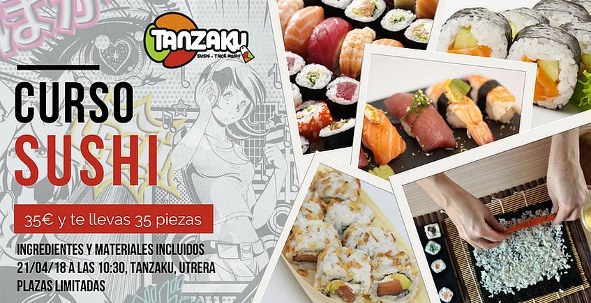 Curso básico de sushi en Utrera