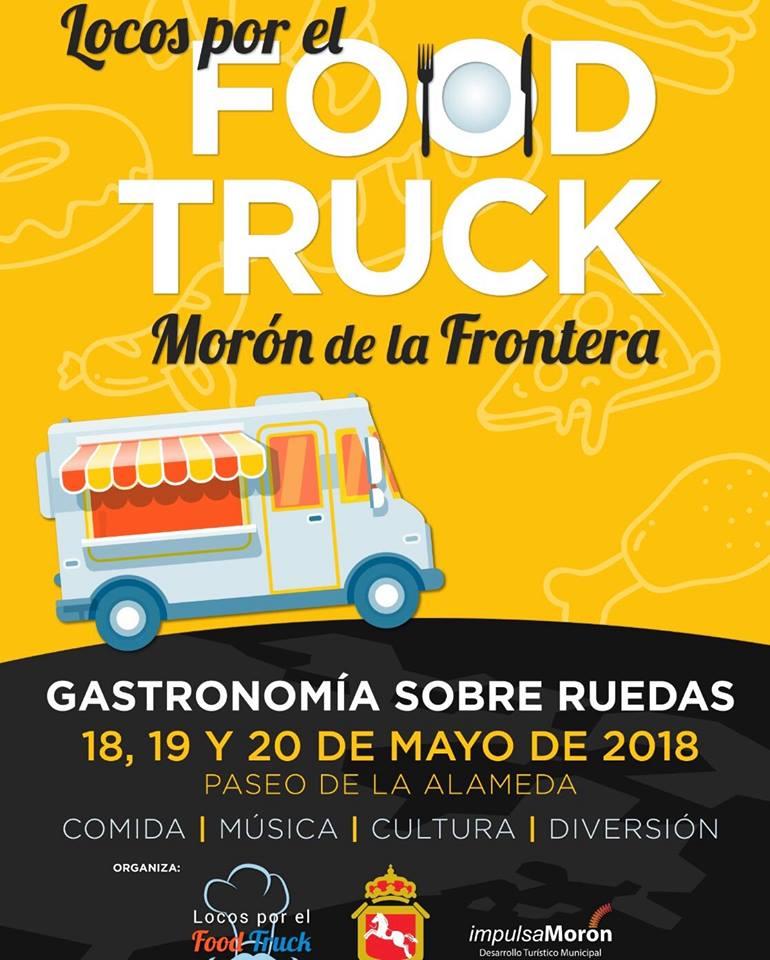 Cartel del Food Truck, principal novedad de este año.