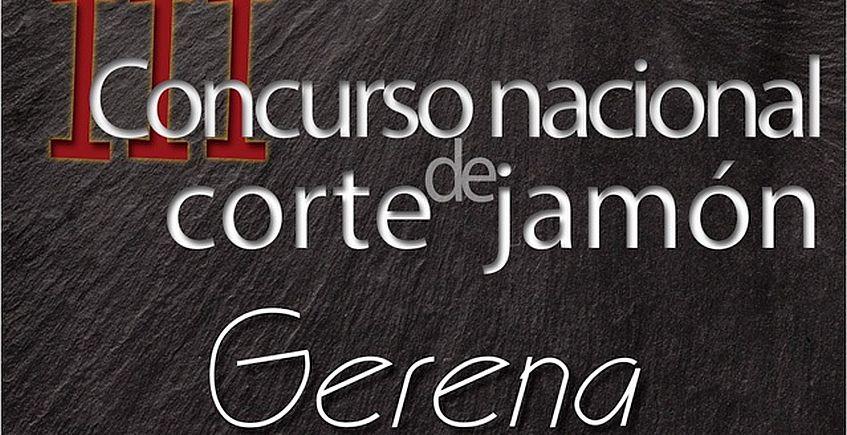 El 15 de abril, III Concurso Nacional de Corte de Jamón de Gerena