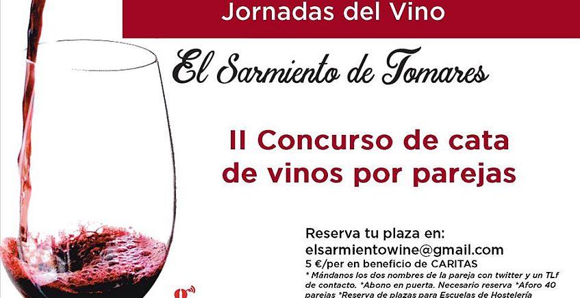 El 7 de mayo, II Concurso de cata de vinos por parejas en Tomares