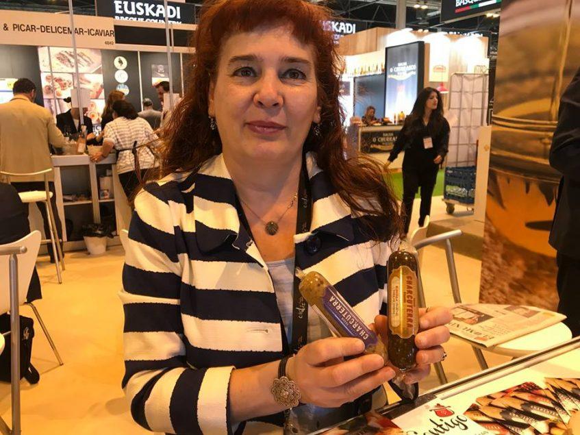 Elvira García, propietaria de Charcuterra. Foto: Cosas de Comé