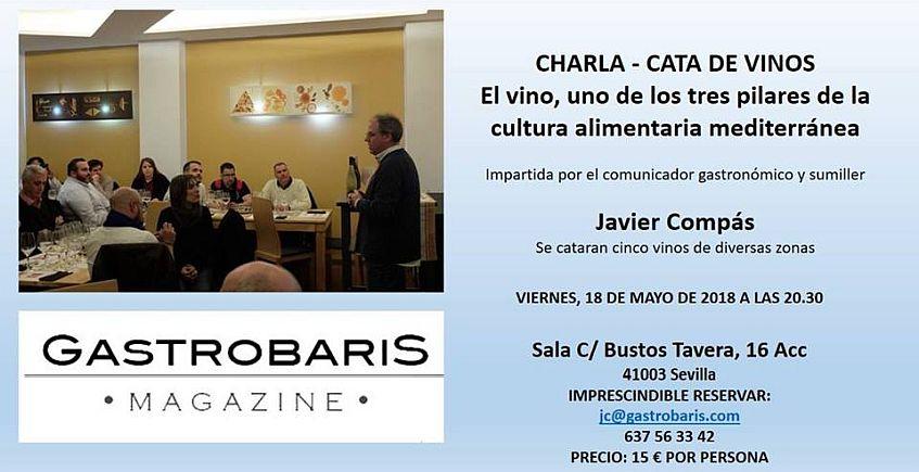 18 de mayo: Charla y cata de vinos en Gastrobaris