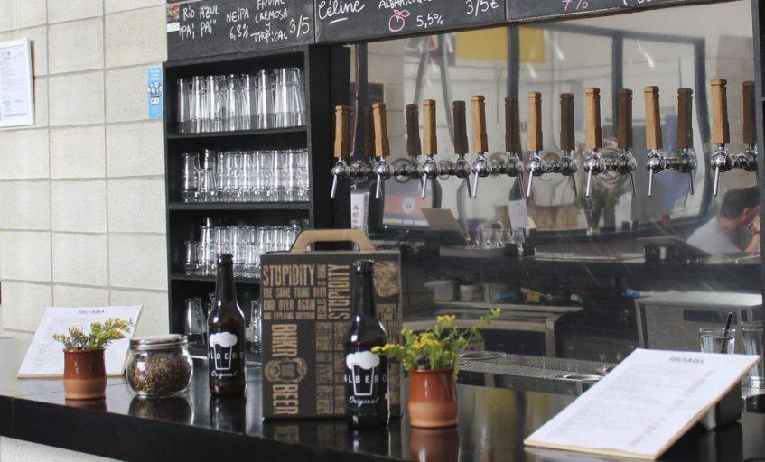Cervezas Albero. Foto cedida por la empresa