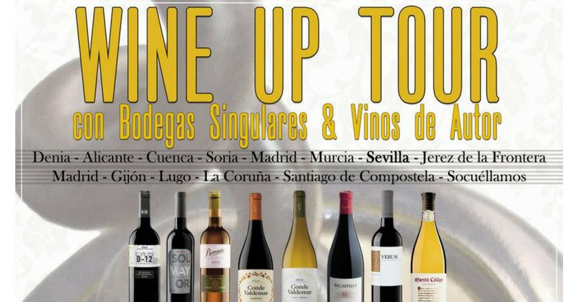 El Wine Up Tour hace parada en Sevilla