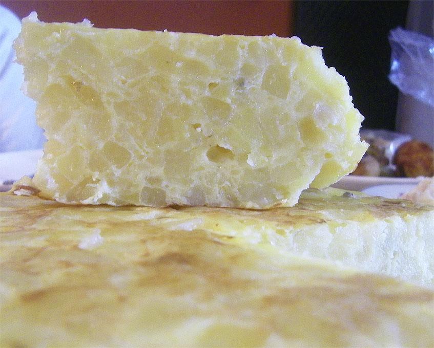 Tortilla de Kilómetro 1, en Bormujos, una de las más populares. Foto: Cosasdecome