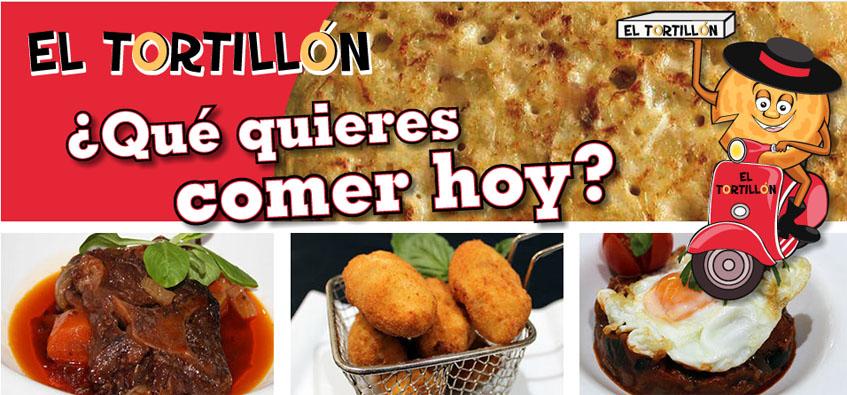 Así es la página web de El Tortillon. Foto: Cedida por el establecimiento
