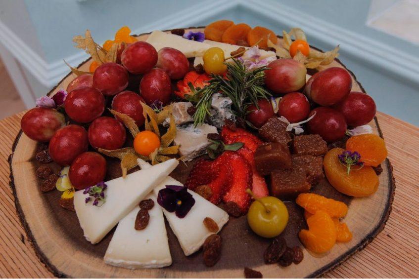 Tabla de quesos andaluces. Foto cedida por el establecimiento
