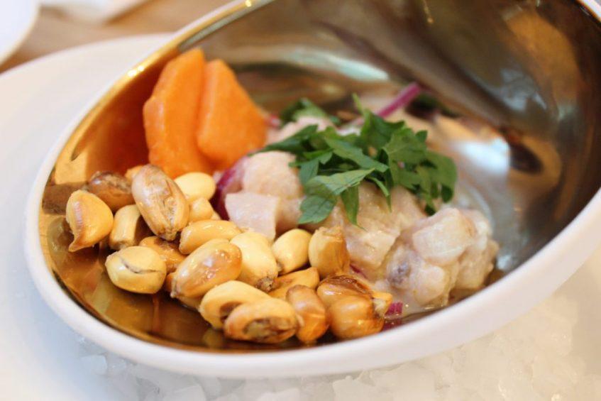Ceviche criollo de corvina. Foto: Cosas de Comé