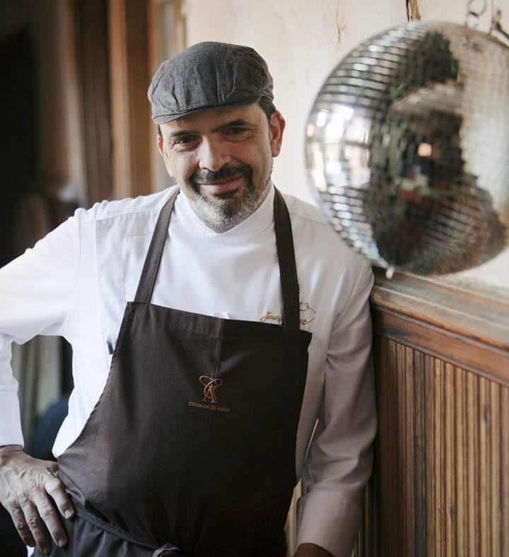 Jesús Sánchez. Restaurante Cenador de Amós. Foto cedida por establecimiento