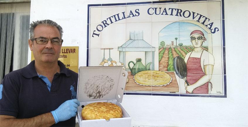 Los tortillones de patatas conquistan Sevilla