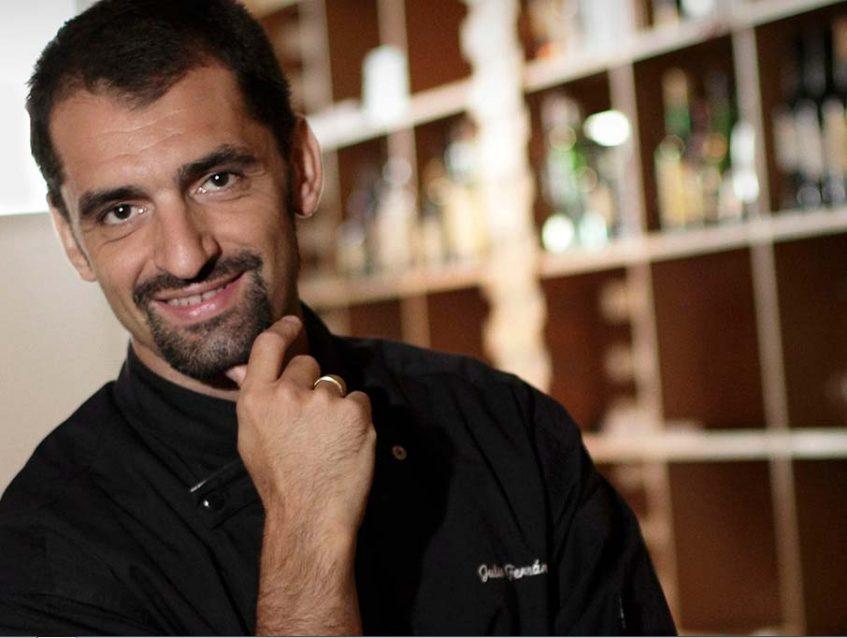 Julio Fernández. Restaurante Abantal. Foto cedida por establecimiento