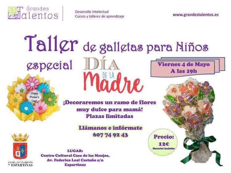 TALLER NIÑOS DIA DE LA MADRE