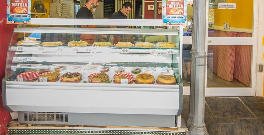 Una de las tiendas de Tortilla's en Sevilla. Foto: Cedida por Tortilla's