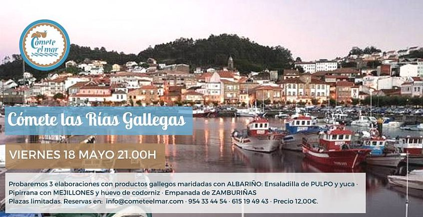 18 de mayo: Cómete las Rías gallegas en Cómete el Mar