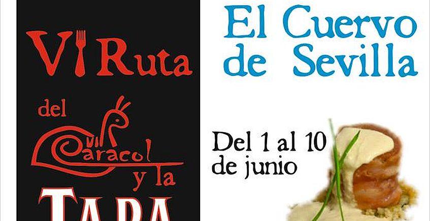 El Cuervo celebra su VI Ruta del Caracol y la Tapa del 1 al 10 de junio
