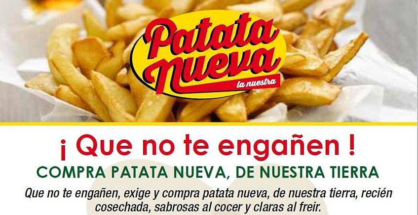 Reparto de patatas y fritada para comparar las españolas y las francesas