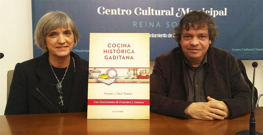 Presentación de libro de Manuel Ruiz Torres sobre la cocina histórica gaditana en el Ateneo de Mairena