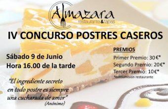 CONCURSO DE POSTRES