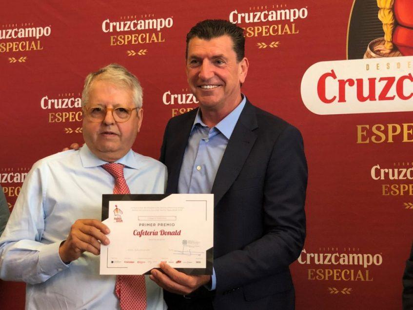 Mariano Faraón, propietario de Cafetería Donald. Foto: Cosas de Comé
