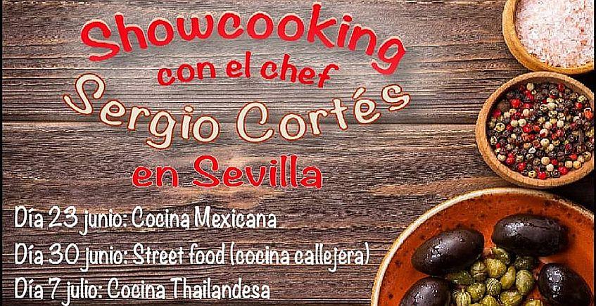 El cocinero Sergio Cortés ofrecerá tres demostraciones de cocina en Cooking Olé