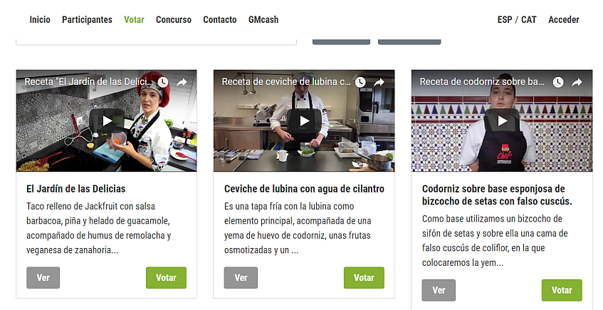 Tres escuelas de hostelería sevillanas participan en el concurso GMChef
