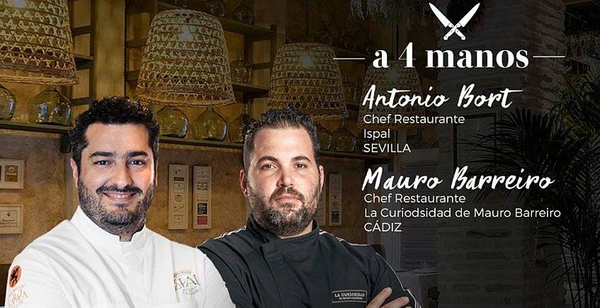 Ispal y La Curiosidad de Mauro Barreiro ofrecerán una cena a cuatro manos