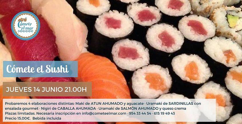 14 de junio: Taller de sushi en Cómete el mar