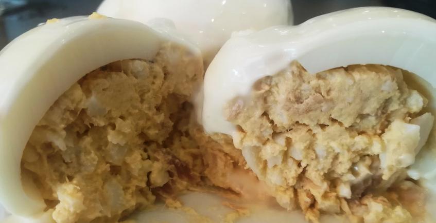 Huevos rellenos. Foto: Cosas de Comé
