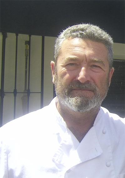 El jefe de cocina y copropietario de Tribeca, Pedro Giménez. Foto: Cosasdecome