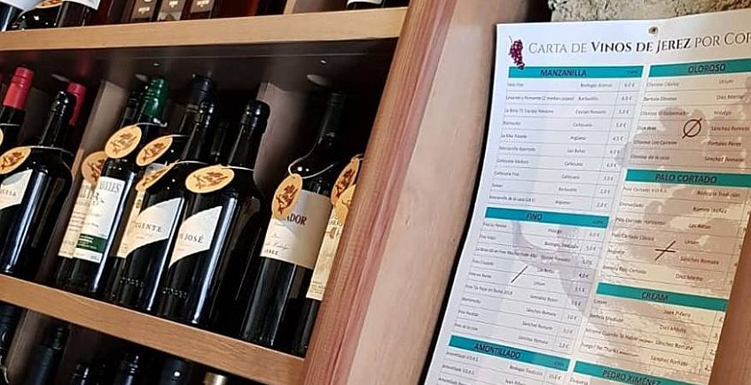 Una selección de 50 vinos de Jerez por copas