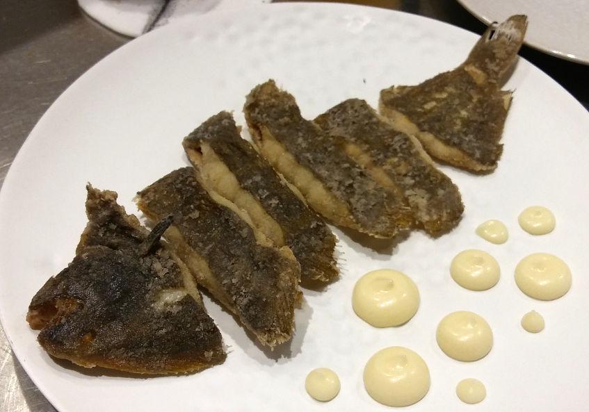 El lenguado frito de Cañabota. Foto: Cosasdecome