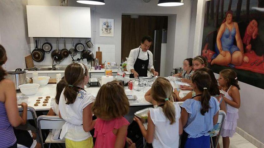 Uno de los talleres infantiles de La Grulla. Imagen cedida por el establecimiento.