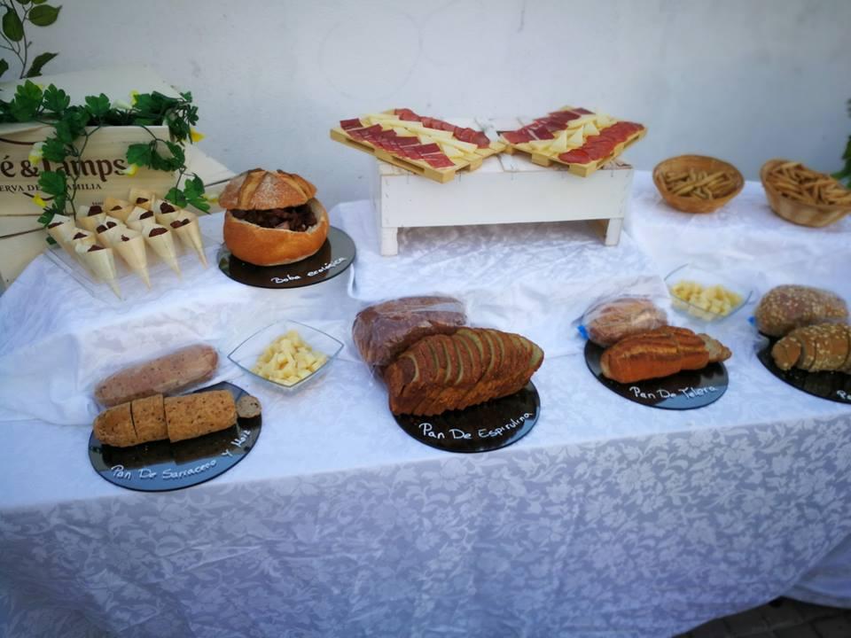 Exposición de algunos de los panes. Todas las imágenes han sido cedidas por el establecimiento.
