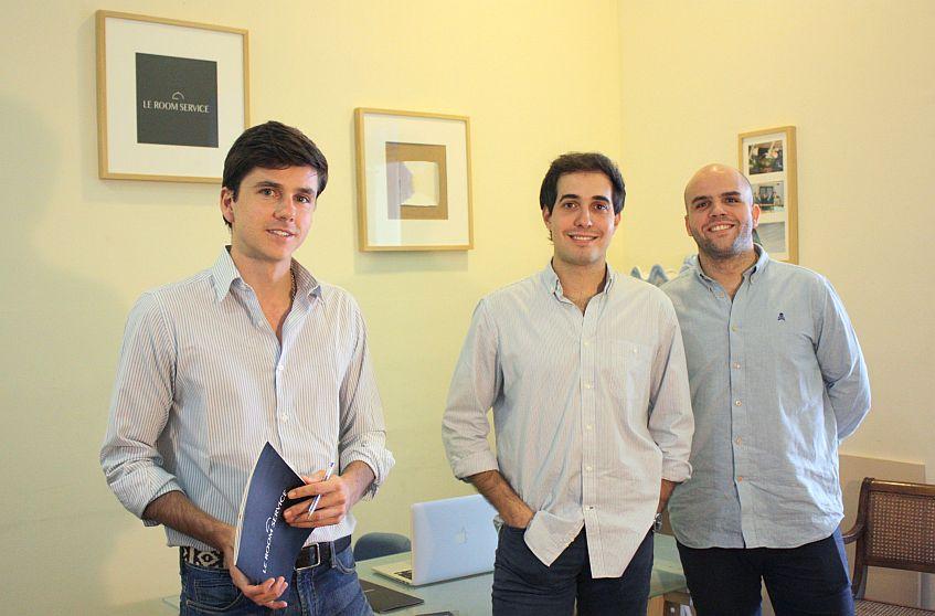 Los socios fundadores de la empresa.