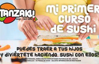 Taller sushi niños