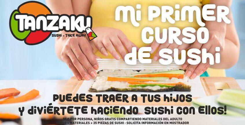 Taller de Sushi para niños en Utrera