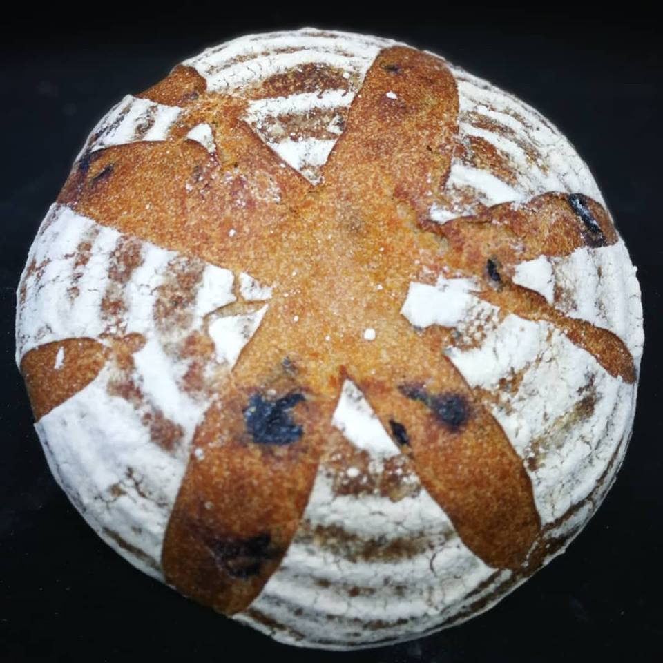 El pan con garum. Todas las fotos han sido cedidas por el establecimiento.