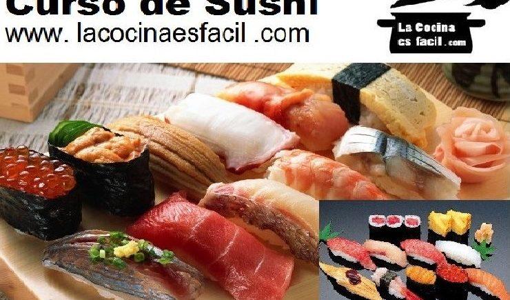 6 de octubre. Curso de sushi en Bollullos.