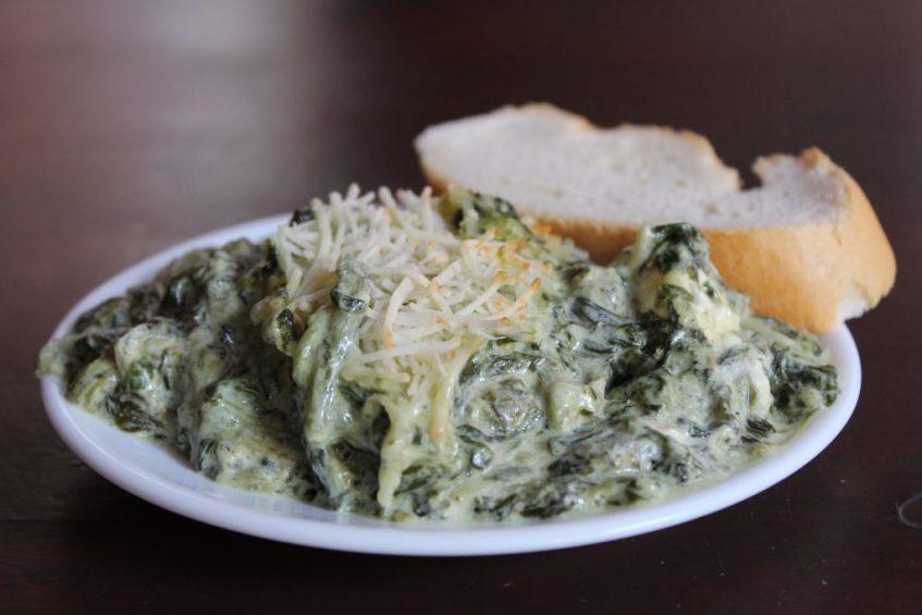 Espinacas a los cinco quesos. Foto: Cosas de Comé