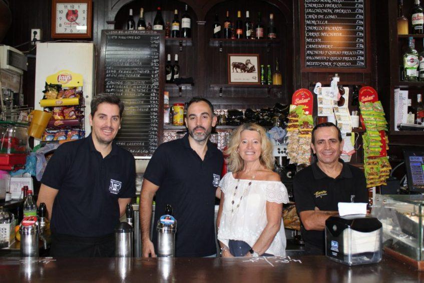 Javi, Javi, Regina y Luis. Equipazo. Foto: Cosas de Comé