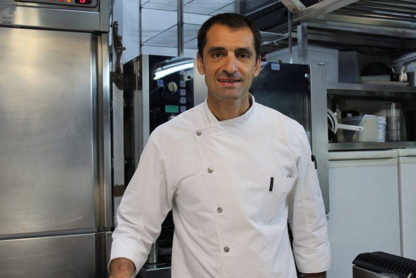 Julio Fernández Quintero, chef de Abantal. Foto: Cosas de Comé