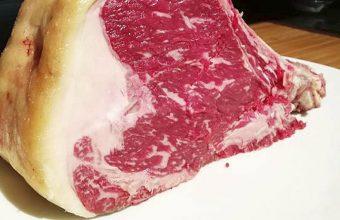 Carne de buey del restaurante Tribeca de Sevilla. Foto: Cedida por el establecimiento