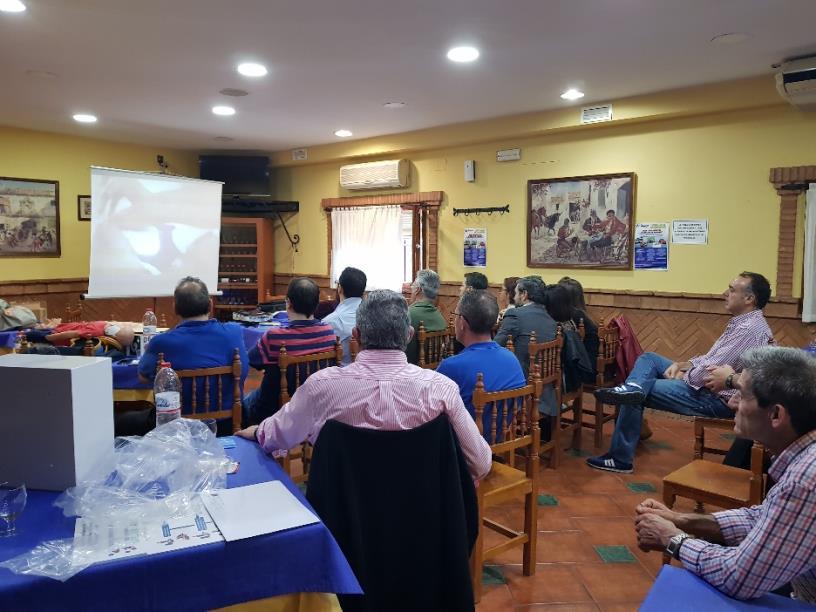 Formación en El Paisano. Las fotos son de Ángel David Bohóquez.