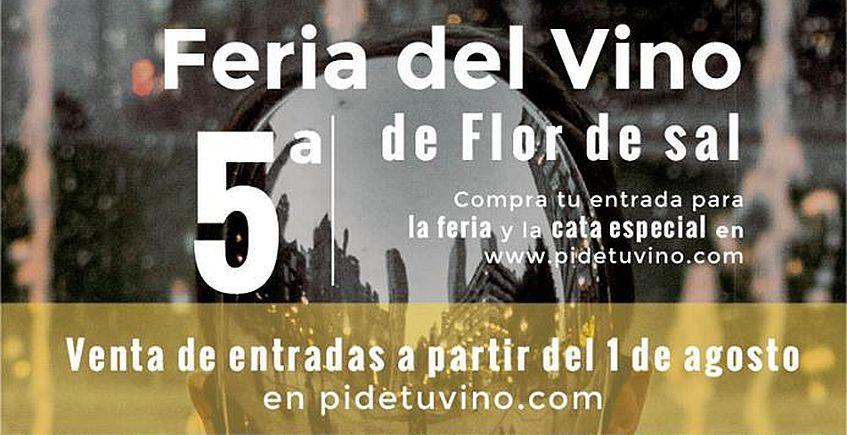 Flor de Sal presenta su calendario de catas para octubre, que incluye su Feria del Vino