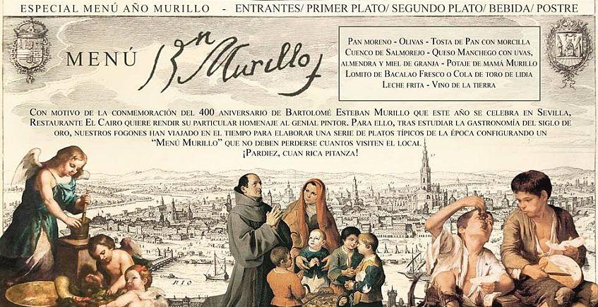 El Cairo y el Asador Salas dedican un menú a Murillo