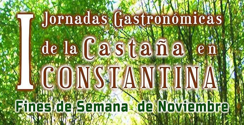 I Jornadas gastronómicas de la castaña en Constantina en noviembre